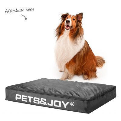Hondenbed large antraciet