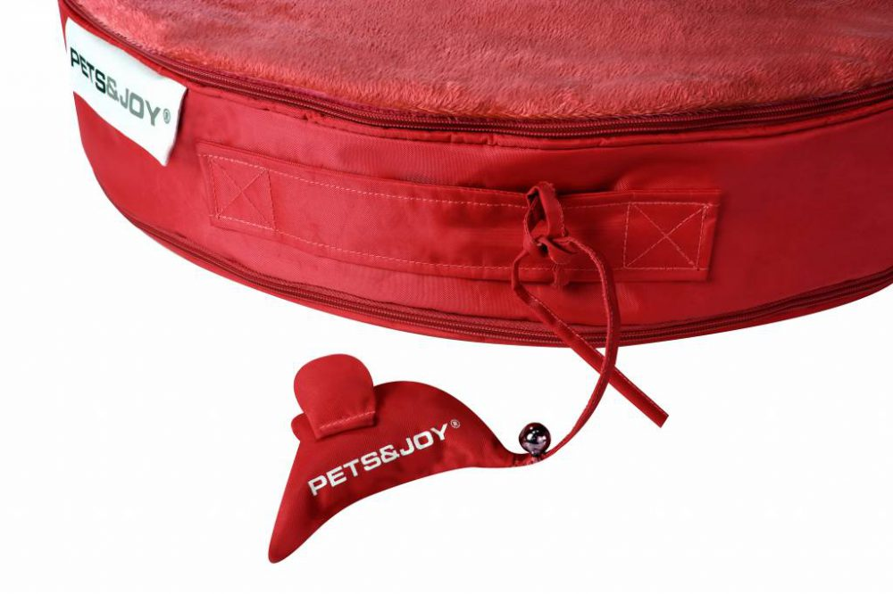 Cat Bed Rood Zoom
