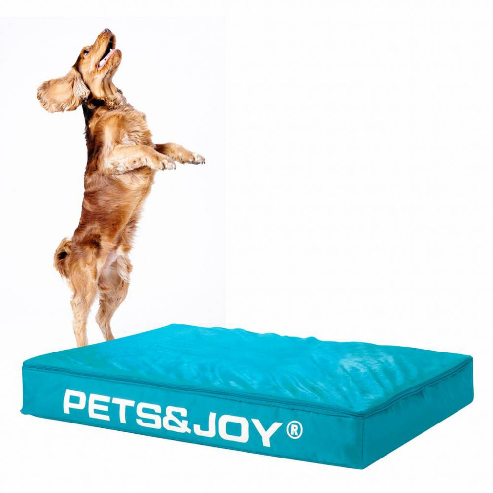 Dog Bed Large Aquablauw