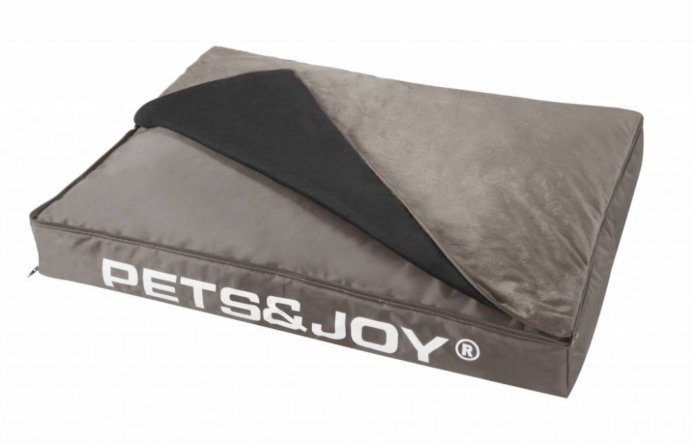 Dog Bed Large Taupe 2