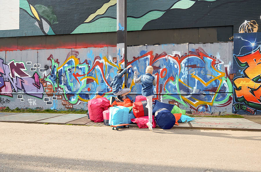 Rondo Kids Navy Outdoor